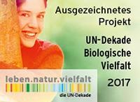 UN-Dekade Ausgezeichnetes Projekt 2017