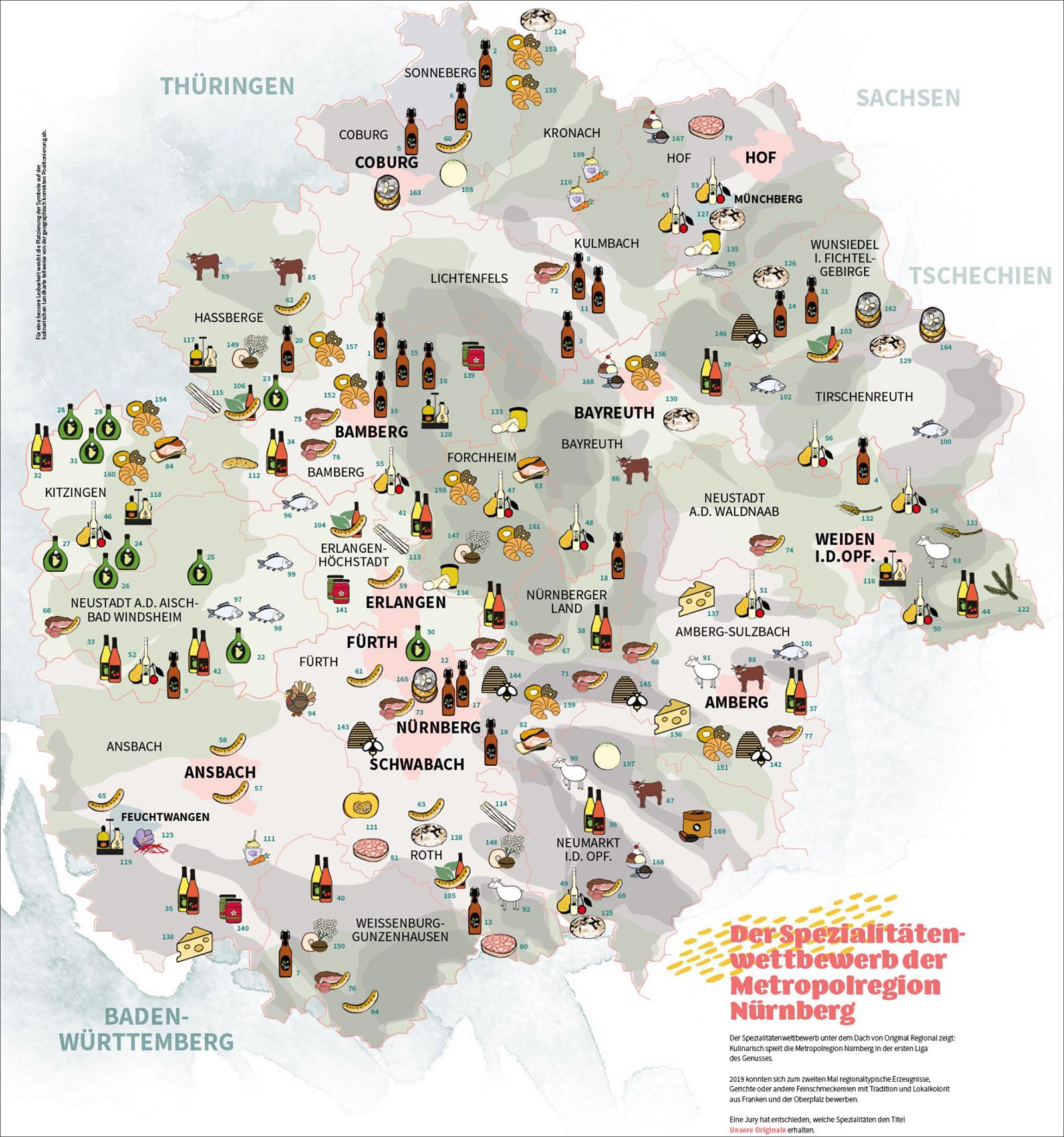 Unsere Originale_Landkarte